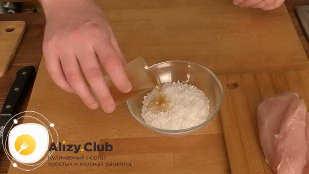 Простой рецепт бастурмы из куриной грудки