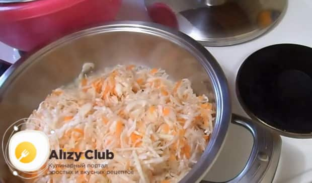 Готовим вареники с картошкой и квашеной капустой  по простому рецепту