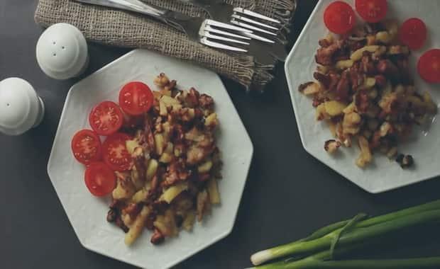 Как приготовить жареные лисички с картошкой по рецепту с фото