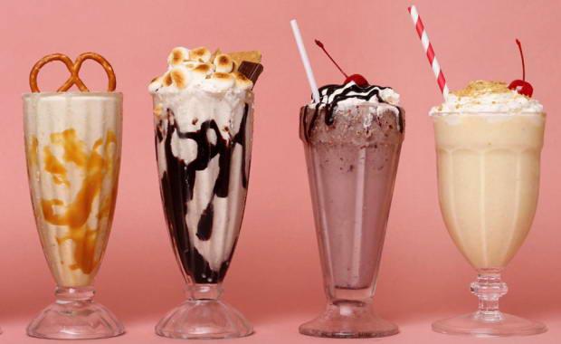 вкусные коктейли с мороженым