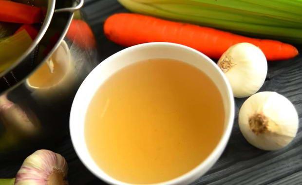 Как приготовить вкусный овощной бульон