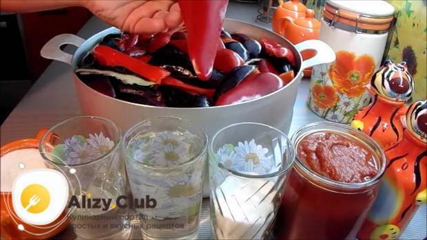 перец маринованный на зиму в томатном соусе