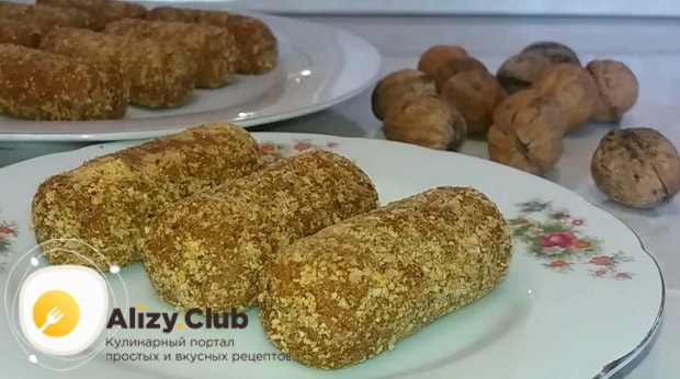 Для приготовления пирожного картошка из печенья, подготовьте все ингредиенты