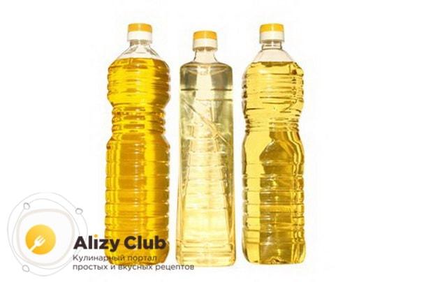 рафинированное дезодорированное растительное масло