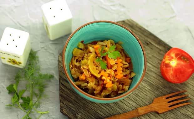 Как сделать рагу из кабачков в мультиварке по пошаговому рецепту с фото