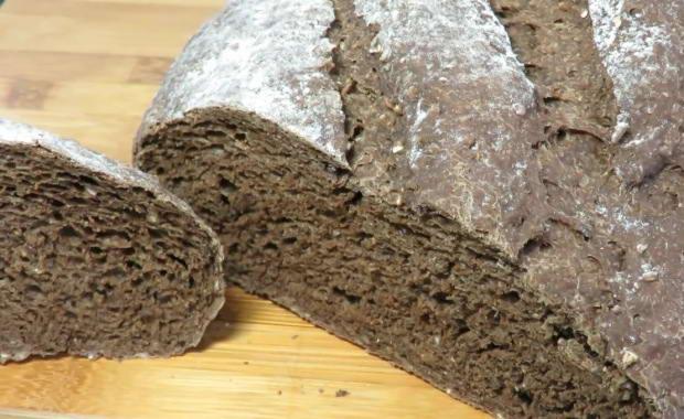 Рецепт приготовления вкусного ржаного хлеба