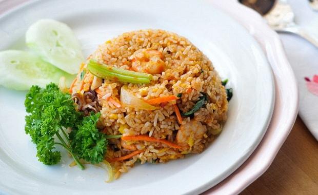 Как приготовить вкусный рис с морепродуктами по рецепту с фото