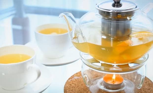 Рецепт приготовления имбирного чая с лимоном и медом