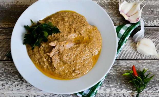 Пошаговый рецепт приготовления Сациви из курицы по-грузински с фото