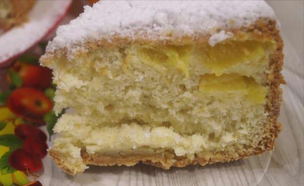 Рецепт приготовления вкусной шарлотки с мандаринами