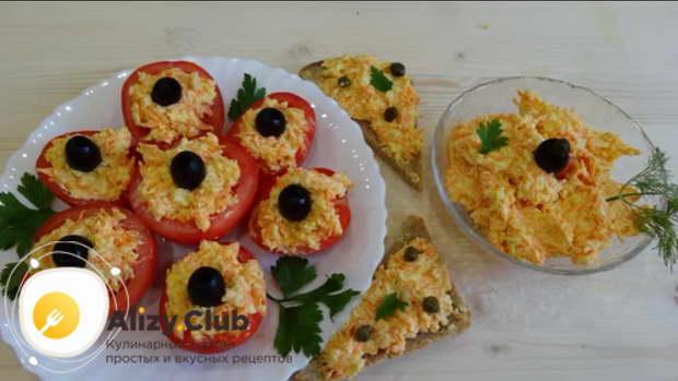 советы о правильном приготолвении еврейской закуски