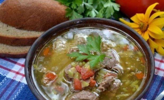 Как варить суп из гуся