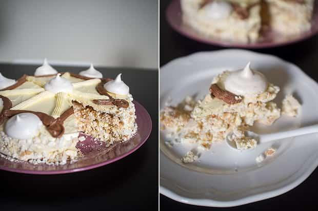 Для приготовления торта полет, украсьте торт