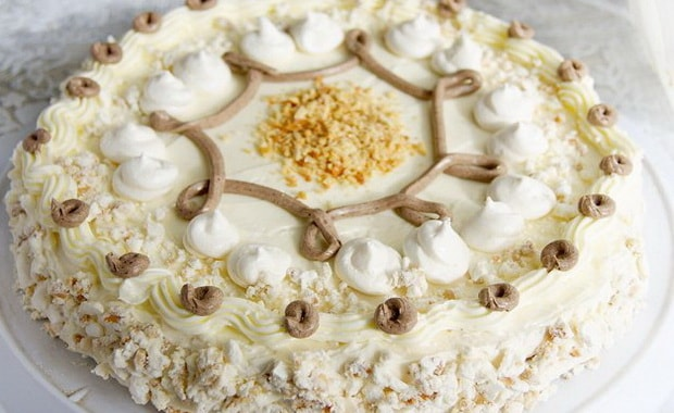 Как приготовить торт Полет по пошаговому рецепту с фото