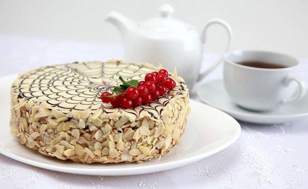 Пошаговый рецепт классического торта Эстерхази с фото