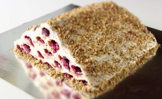 Пошаговый рецепт торта Монастырская изба с фото