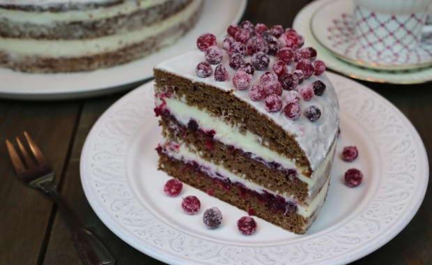 Пошаговый рецепт торта Сказка с фото