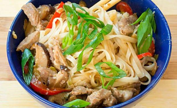 Удон с морепродуктами: пошаговый рецепт азиатского блюда