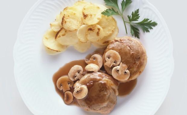 Рецепт жареных вешенок с картошкой с фото