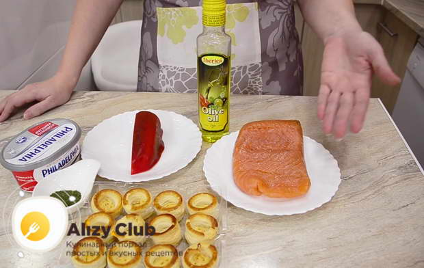 тарталетки с семгой рецепты с фото