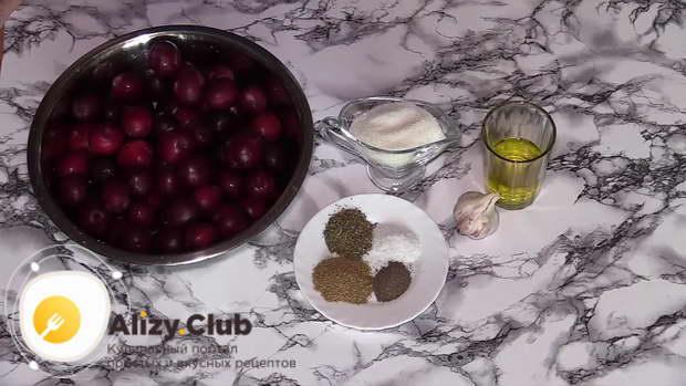 соус ткемали рецепт из слив классический на зиму
