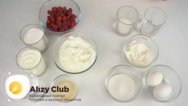 йогуртовый торт с фруктами рецепт с фото