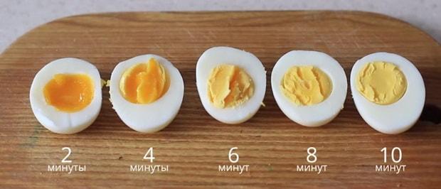 Какое время варки яиц в мешочек