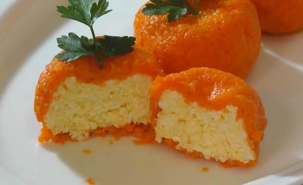 Как приготовить закуску Мандаринки по пошаговому рецепту с фото