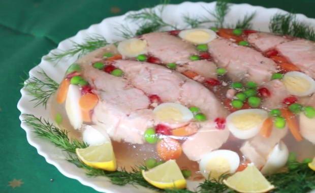 Пошаговый рецепт приготовления заливной рыбы с фото