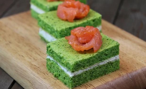 Как приготовить закуску с красной рыбой по пошаговому рецепту с фото