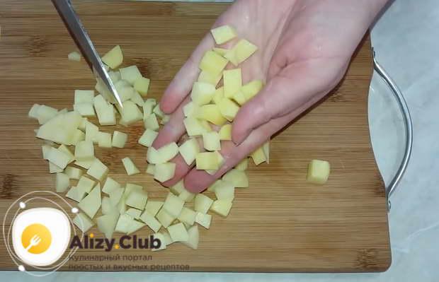 курник в духовке с курицей и картошкой