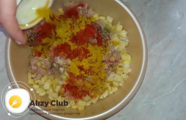 рецепт курников маленьких с курицей и картошкой