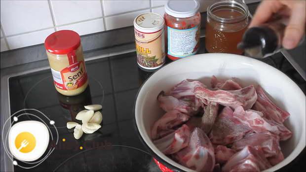 бараньи ребрышки в духовке рецепт с фото