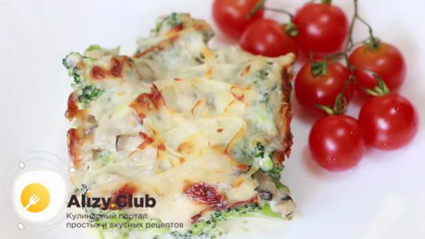 Видео рецепта жареной брокколи в сливочном соусе