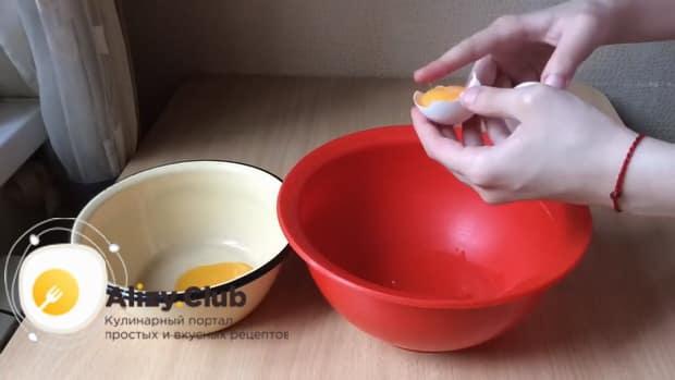 Для приготовления диетического торта. подготовьте яйца