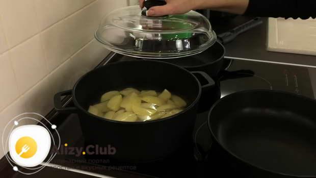 Пошаговый рецепт вареников с картошкой и грибами