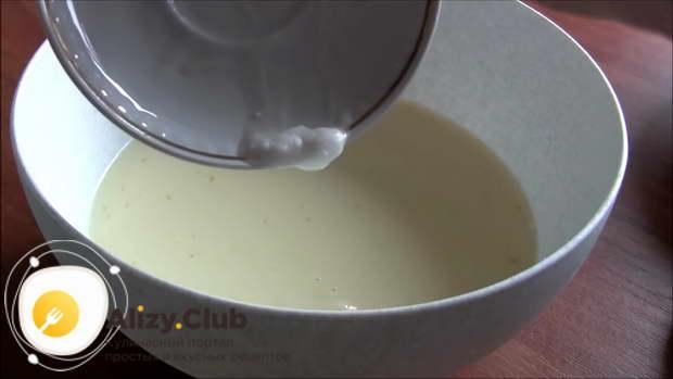 Дрожжевое тесто на кислом молоке для пирогов
