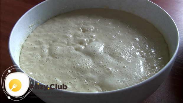 дрожжевое тесто для пирогов с сухими дрожжами
