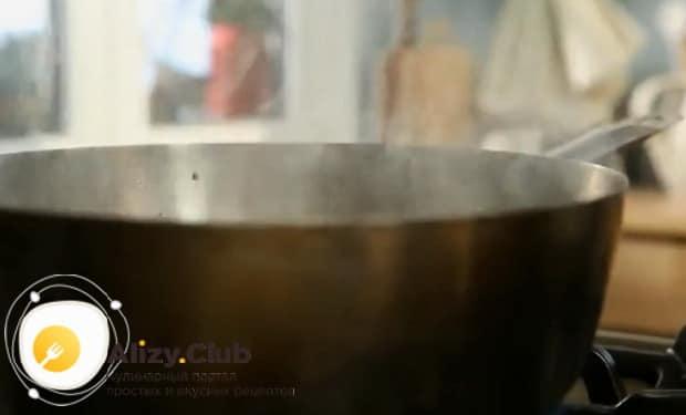 По рецепту для приготовления говяжьего сердца, обжарьте грибы