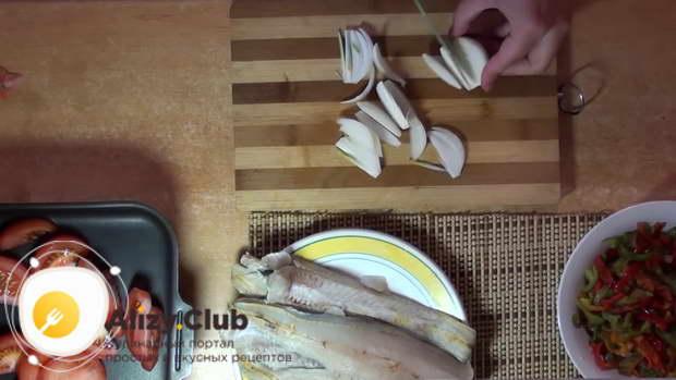 рыба в духовке в фольге с овощами
