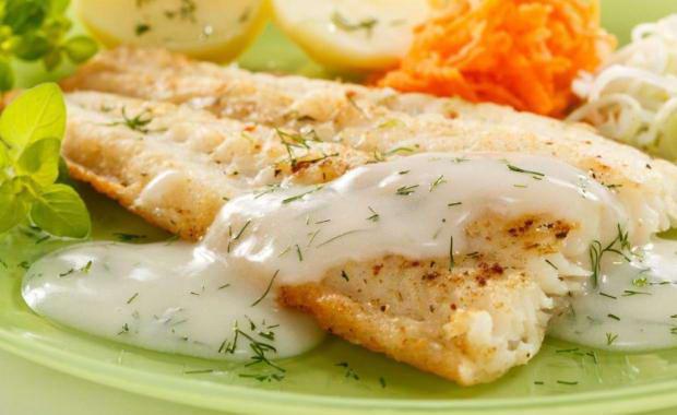 как жарить рыбу треску