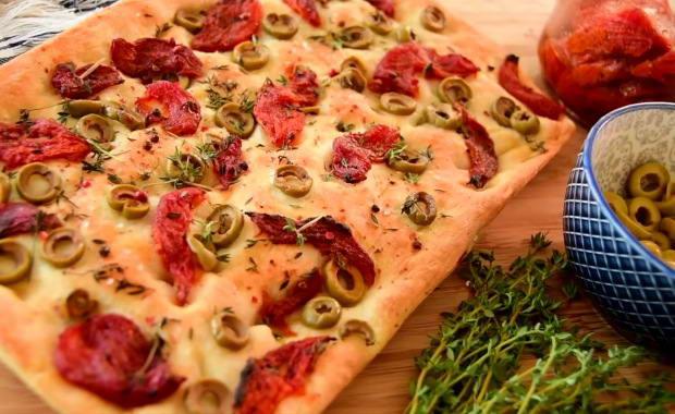 Пошаговый рецептп приготовления итальянской фокаччи с фото