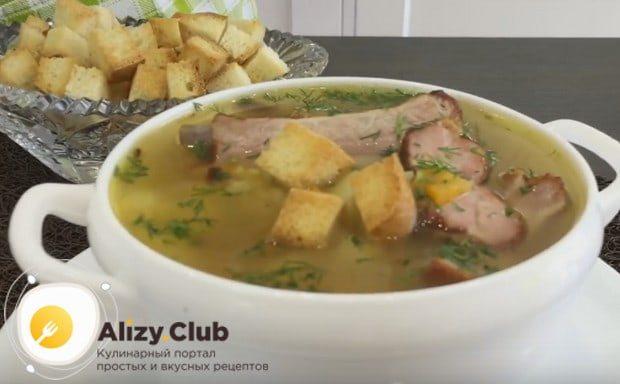 Приготовьте суп из свиных ребрышек по нашему рецепту с фото, и вы наверняка не останетесь к нему равнодушны!