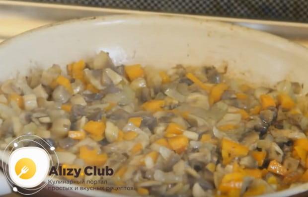 По этому рецепту можно приготовить и гречку с сушеными грибами.