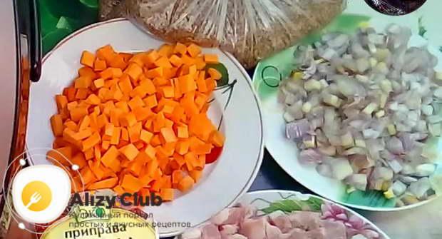 Рецепт гречки с мясом в мультиварке