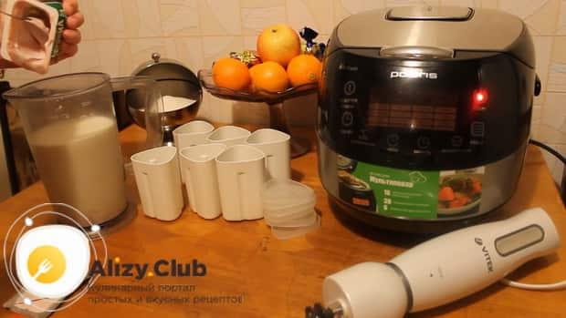 Готовим йогурт в мультиварке по простому рецепту.