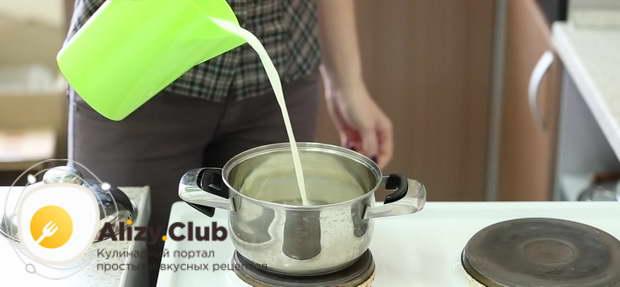 какао рецепт с молоком классический