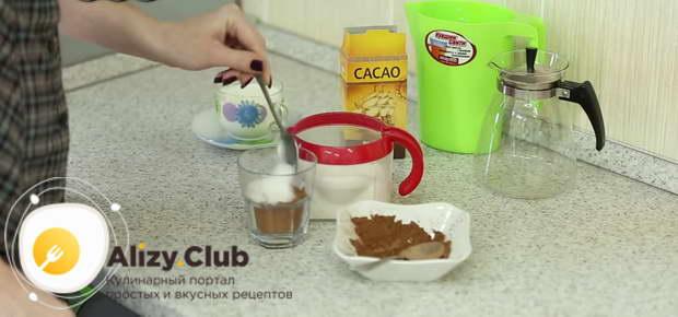 рецепт какао на молоке 1 литр