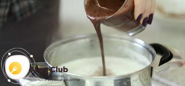 сварить какао на молоке пошаговый рецепт