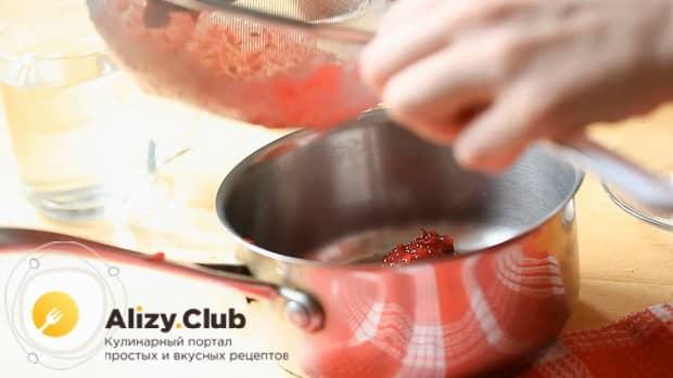 Как приготовить кисель из клюквы по пошаговому рецепту с фото